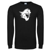 Black Long Sleeve T Shirt-Pirate