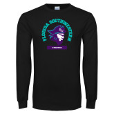 Black Long Sleeve T Shirt-Florida SouthWestern Athletics