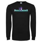 Black Long Sleeve T Shirt-Buccaneers Pirate