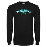 Black Long Sleeve T Shirt-FSW Buccaneers Swords