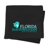 Black Sweatshirt Blanket-Florida SW Buccaneers
