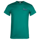 Teal T Shirt-Primary Logo