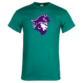 Teal T Shirt-Pirate