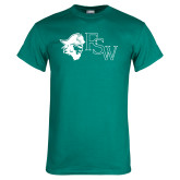 Teal T Shirt-Pirate FSW