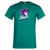 Teal T Shirt-Bucs Pirate