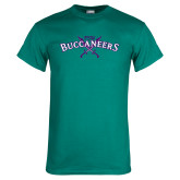 Teal T Shirt-FSW Buccaneers Swords