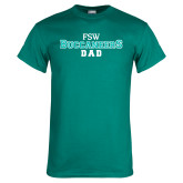 Teal T Shirt-Dad