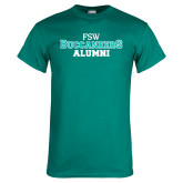 Teal T Shirt-Alumni