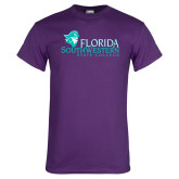 Purple T Shirt-Primary Logo