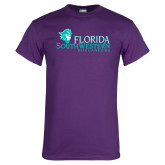 Purple T Shirt-Florida SW Buccaneers