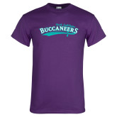 Purple T Shirt-Buccaneers Sword