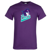 Purple T Shirt-Bucs Pirate