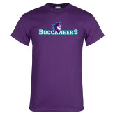 Purple T Shirt-Buccaneers Pirate