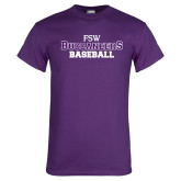 Purple T Shirt-Baseball