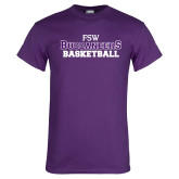 Purple T Shirt-Basketball