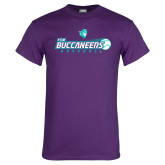 Purple T Shirt-FSW Buccaneers Baseball