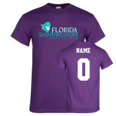 Purple T Shirt-Primary Logo, Custom Tee w/ Name and #