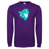 Purple Long Sleeve T Shirt-Pirate