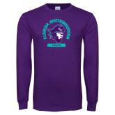 Purple Long Sleeve T Shirt-Florida SouthWestern Athletics