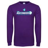 Purple Long Sleeve T Shirt-FSW Buccaneers Baseball