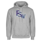 Grey Fleece Hoodie-FSW