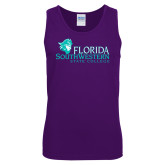 Purple Tank Top-Primary Logo