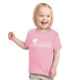 Toddler Pink T Shirt-Primary Logo
