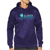 Adidas Purple Team Issue Hoodie-Florida SW Buccaneers
