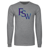 Grey Long Sleeve T Shirt-FSW