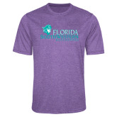 Performance Purple Heather Contender Tee-Florida SW Buccaneers