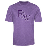 Performance Purple Heather Contender Tee-FSW