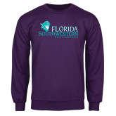 Purple Fleece Crew-Florida SW Buccaneers
