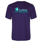 Performance Purple Tee-Florida SW Buccaneers
