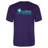 Syntrel Performance Purple Tee-Florida SW Buccaneers