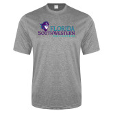 Performance Grey Heather Contender Tee-Florida SW Buccaneers