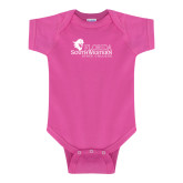 Fuchsia Infant Onesie-Primary Logo
