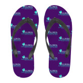 Full Color Flip Flops-Primary Logo