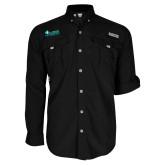 Columbia Bahama II Black Long Sleeve Shirt-Florida SW Buccaneers