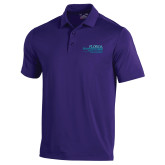 Under Armour Purple Performance Polo-School of Education