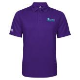 Adidas Climalite Purple Game Time Polo-Primary Logo