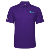 Adidas Climalite Purple Game Time Polo-Florida SW Buccaneers