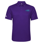 Adidas Climalite Purple Game Time Polo-School of Education