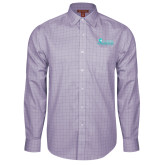 Red House Purple Plaid Long Sleeve Shirt-Primary Logo