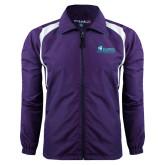 Colorblock Purple/White Wind Jacket-Florida SW Buccaneers