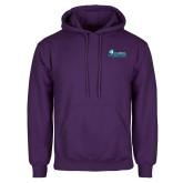 Purple Fleece Hoodie-Primary Logo