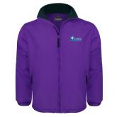 Purple Survivor Jacket-Primary Logo