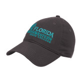 Charcoal Twill Unstructured Low Profile Hat-Primary Logo