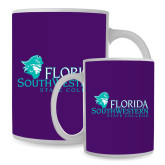 Full Color White Mug 15oz-Primary Logo