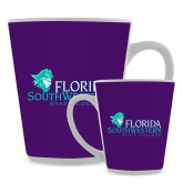 Full Color Latte Mug 12oz-Primary Logo