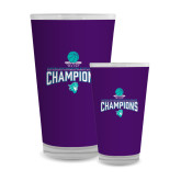 Full Color Glass 17oz-Suncoast Womens Basketball Champions